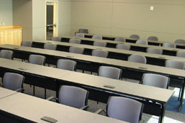 Photo of a classroom