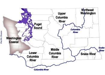 Washington coastal salmon recovery region washington coastal salmon recovery region map publicscrutiny Gallery