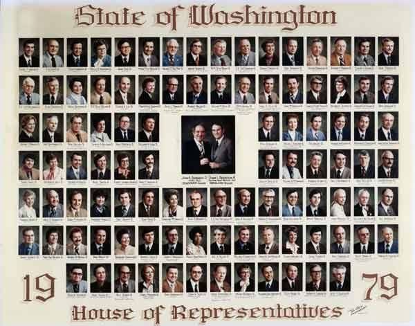 1979 Washington State's House of Representatives.