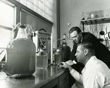 Biochemistry at Boeing, 1959 (Tweet from 17 October 2011).  State Library Photograph Collection.
