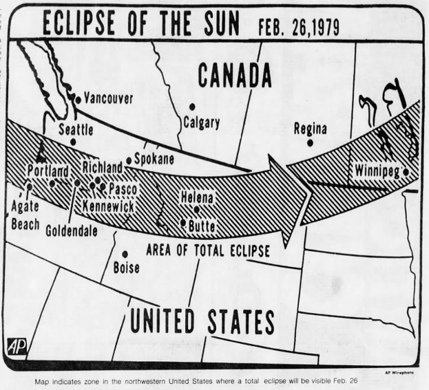 Image Courtesy of the Associated Press, San Bernardino County Sun, February 14, 1979.