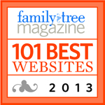Family Tree Magazine Best 101 2013