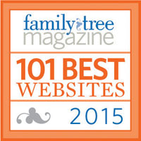 Family Tree Magazine Best 101 2015>