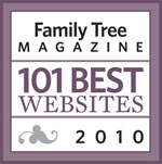 Family Tree Magazine Best 101 2010